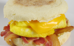 Perfect breakfast sandwich when on the go or to prep ahead of time