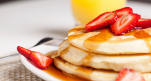 Easy protein pancakes with 6 ingredients