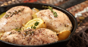 Delicious chicken that all the family will love. It is so easy to make and can be made in the oven or crockpot.