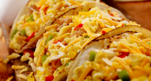 Breakfast taco my go to meal. I enjoy them so much and tacos a so versatile and be made with all your favorite options.