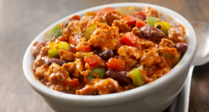 Who doesn't like comfort food, chili is one of my favorites comforts foods.. I make my chili very macro friendly so no guilt when you enjoy it.
